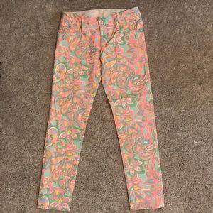 Lilly Pulitzer 0 worth skinny mini jeans!